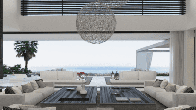EL MADRONAL 6bedroom modern Sea view villa for sale – ready 2021
