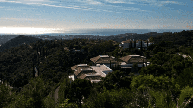 La Zagaleta South facing villa with Sea views