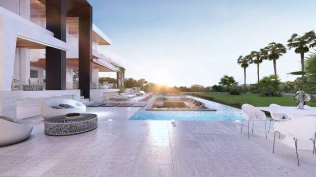 New Golden Mile Estepona Modern villa great value