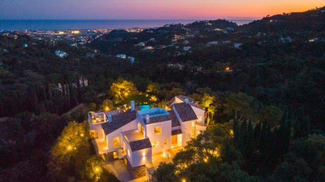 El Madroñal new villa with Sea views