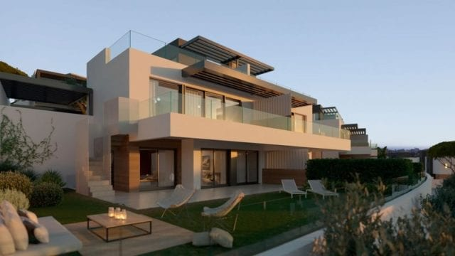Benahavis 50 semi-detached villas for sale off plan