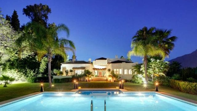 Reduced – Puerto Banus Mansion for sale only 5min walk to beach