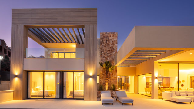 Nueva Andalucia new modern villas with great views