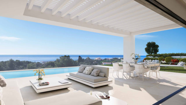 Marbella East modern off plan villas 3-4 bedrooms with Sea views