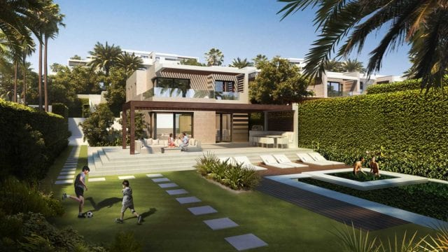 Estepona Beachfront development off plan Villas & Bungalows for sale.Ready 2021