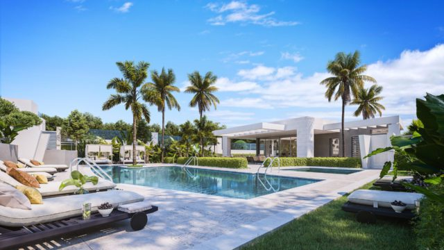 Guadalmina.Modern Semidetached villas at off-plan prices.Ready 2022
