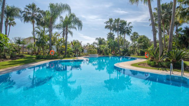 Reduced – Golden mile villa for sale.Gated, Tropical Garden and large Garage.