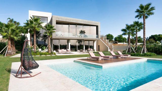 Los Flamingos 6bedroom modern villa for sale 1st line Golf
