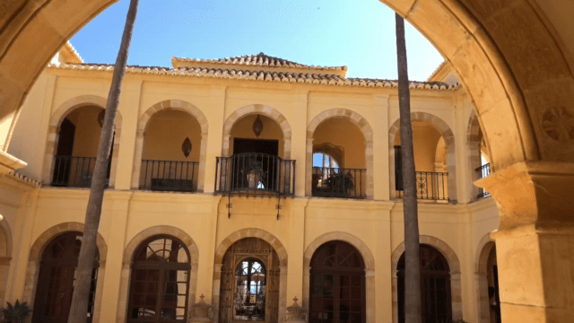 Estepona impressive luxury Finca for sale with Sea views