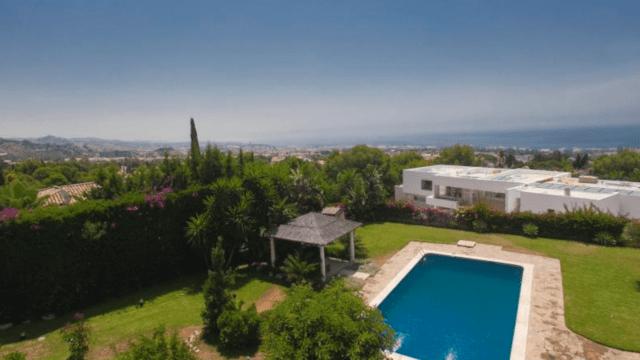 Sierra Blanca 8bedroom villa for sale with Panoramic Seaviews