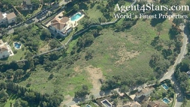 6 plots for sale Marbella Hill side