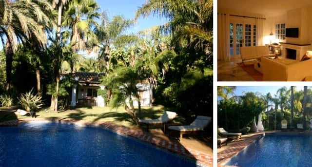 Bungalow with tropical garden near Puerto Banus