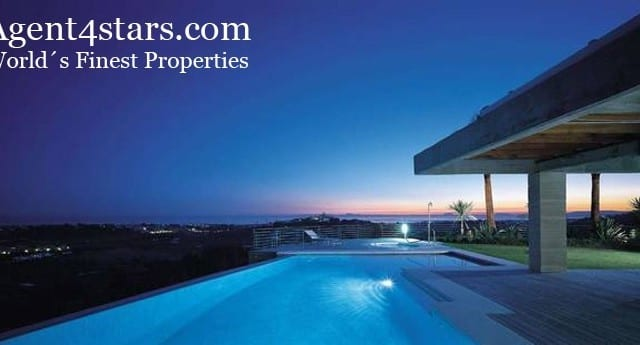 Modern villa for sale & rent with great views in Benahavis