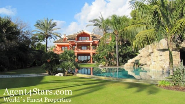 10bed Mansion first line Beach Marbella Golden mile