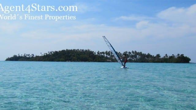 Island next to Luxury Resort