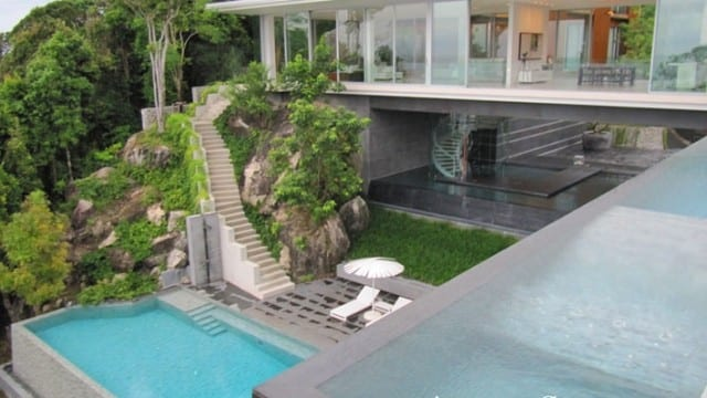 Perfect Modern home in Phuket with Sea views