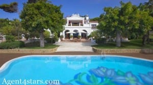 Beach Front villa for sale Golden Mile Marbella